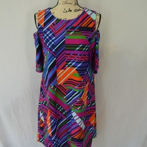 Jude Connally EUC Natalie Cold Shoulder M dress